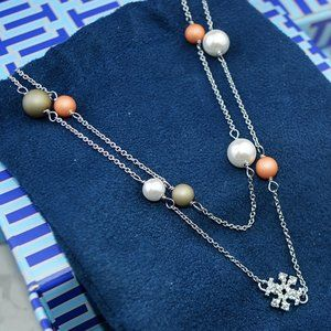 🍃Tory Burch Pearl Necklace